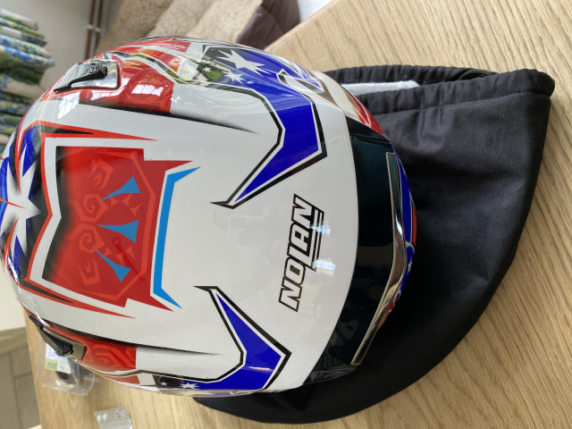 Casey Stoner replica carbon x802rr size xl nolan helmet 1