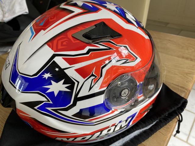 Casey Stoner replica carbon x802rr size xl nolan helmet 2