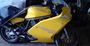 Ducati 900 Superlight needing work.