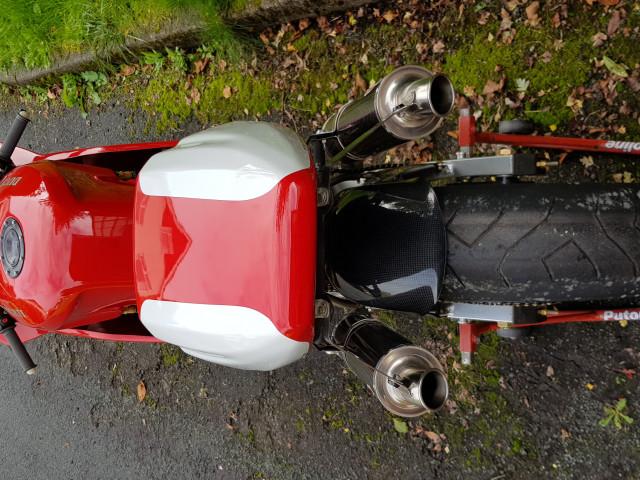 Ducati 926 Corse, 1994, one of 32 built. Ex-BSB, WSB, TT 9