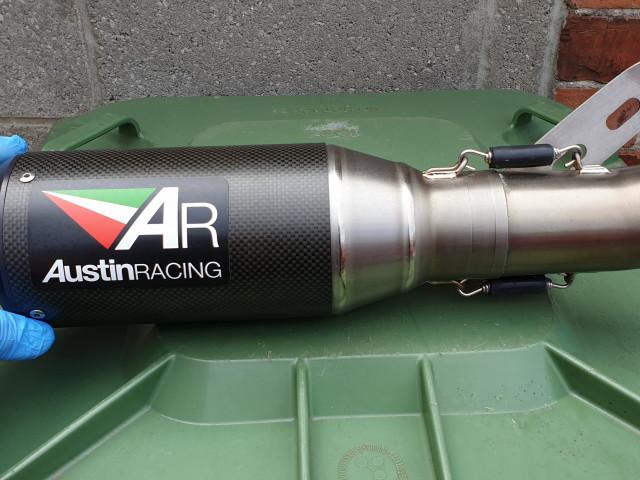 Austin racing exhaust  0