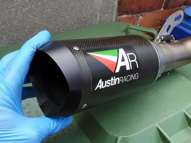 Austin racing exhaust  1