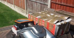 Multistrada 1000ccstandard exhaust silencers +air filter + air filter case + ecu + lamba sensor
