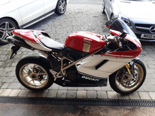 Ducati 1098s Tricolore 1