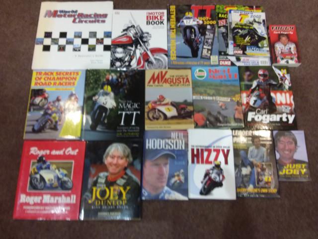 FREE - Job Lot Motorcycle Books 0