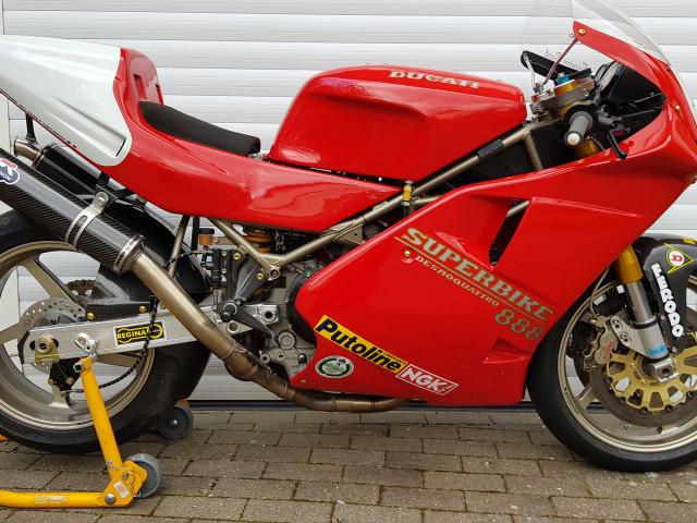 Ducati 926 Corse, 1994, one of 32 built. Ex-BSB, WSB, TT 1