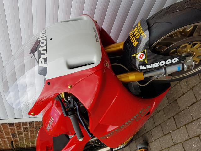 Ducati 926 Corse, 1994, one of 32 built. Ex-BSB, WSB, TT 0