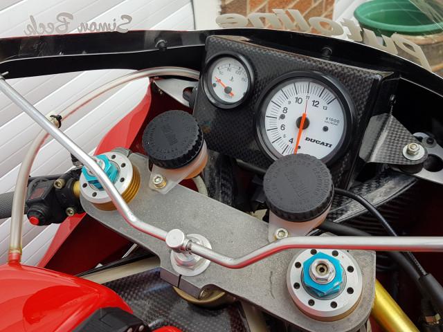 Ducati 926 Corse, 1994, one of 32 built. Ex-BSB, WSB, TT 2