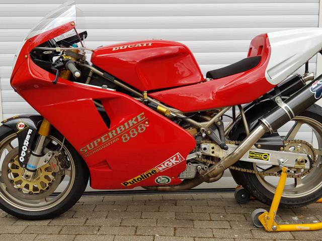 Ducati 926 Corse, 1994, one of 32 built. Ex-BSB, WSB, TT 4
