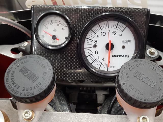 Ducati 926 Corse, 1994, one of 32 built. Ex-BSB, WSB, TT 5