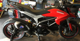 Hypermotard 821 end can wanted