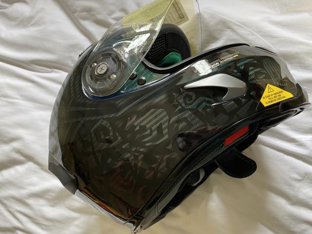 Casey stoner superhero carbon helmet size xl 4