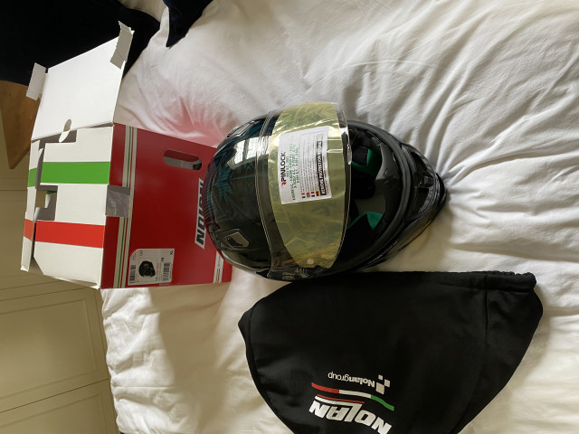 Casey stoner superhero carbon helmet size xl 6