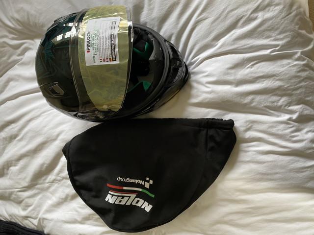 Casey stoner superhero carbon helmet size xl 5