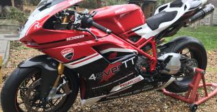 Ducati 1098s Track/Road Bike