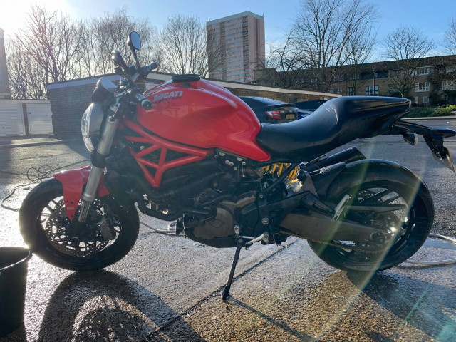 Ducati Monster 821 from 2014 0