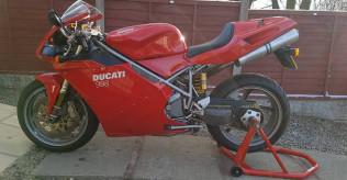 Ducati 998 Biposto 2002 - Low Mileage, Beautiful Condition