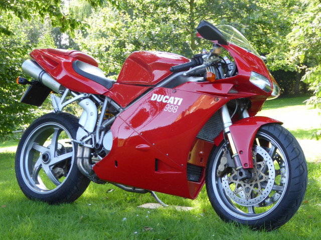 Ducati 998 Biposto 2002 - Low Mileage, Beautiful Condition 0