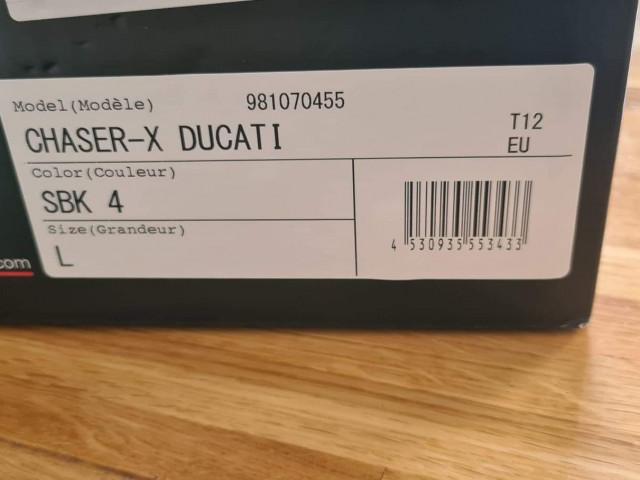 Ducati Arai Chaser X Large Helmet Brand New 0