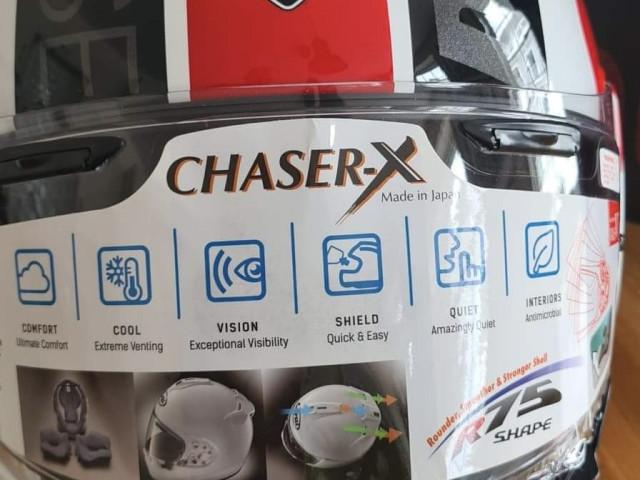 Ducati Arai Chaser X Large Helmet Brand New 7
