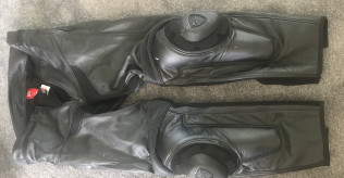 Dainese Leather Trousers Size 58