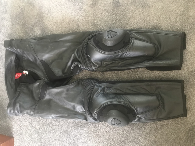 Dainese Leather Trousers Size 58 0