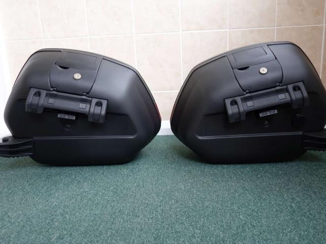 Used SHAD SH36 luggage set to suit Ducati Diavel 2011 3