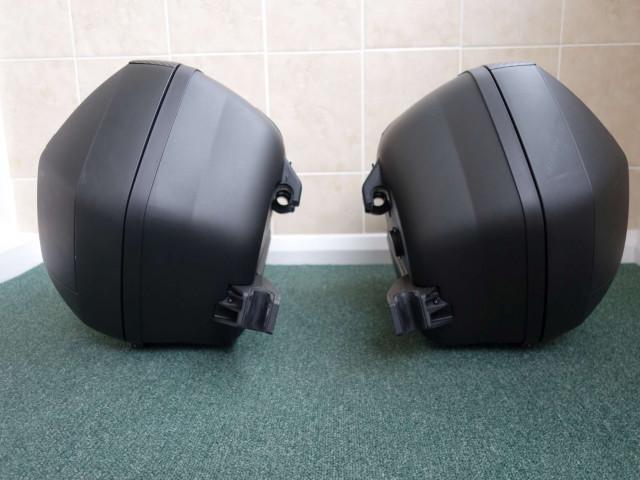 Used SHAD SH36 luggage set to suit Ducati Diavel 2011 4