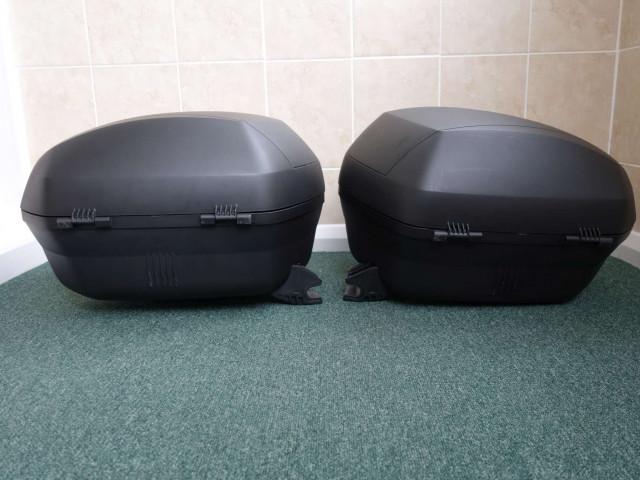 Used SHAD SH36 luggage set to suit Ducati Diavel 2011 5