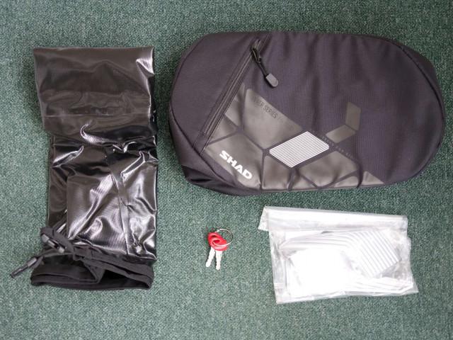 Used SHAD SH36 luggage set to suit Ducati Diavel 2011 7