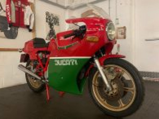 1981 900SS Bevel early MHR (Mike Hailwood Replica) steel tank 1-piece fairing Conti's only 6,000miles! 4
