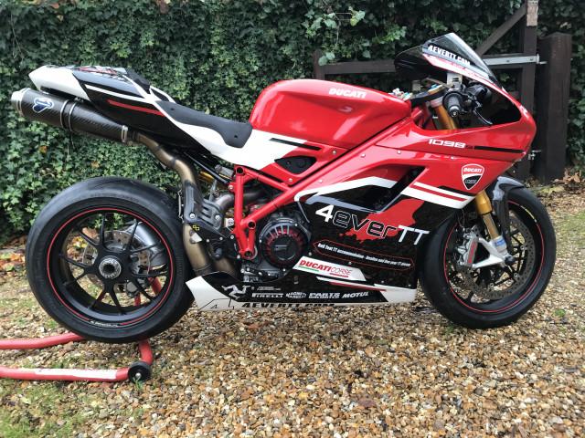 Ducati 1098s Track/Road Bike 1