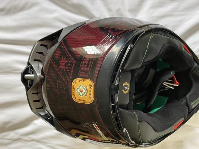 Casey stoner superhero carbon helmet size xl 2