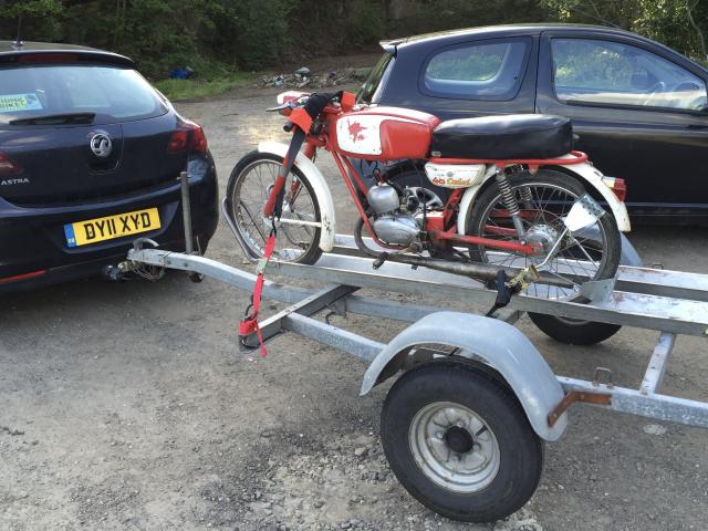 Two bike trailer 2