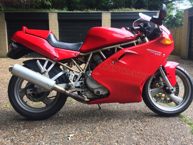 Ducati 600 supersport for sale 2