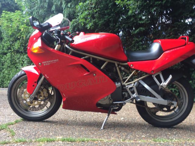 Ducati 600 supersport for sale 1