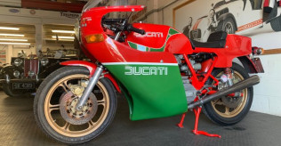 1981 900SS Bevel early MHR (Mike Hailwood Replica) steel tank 1-piece fairing Conti's only 6,000miles!
