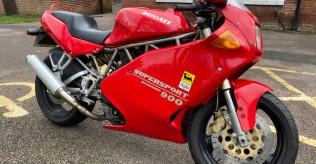 1993 Ducati 900SS Red