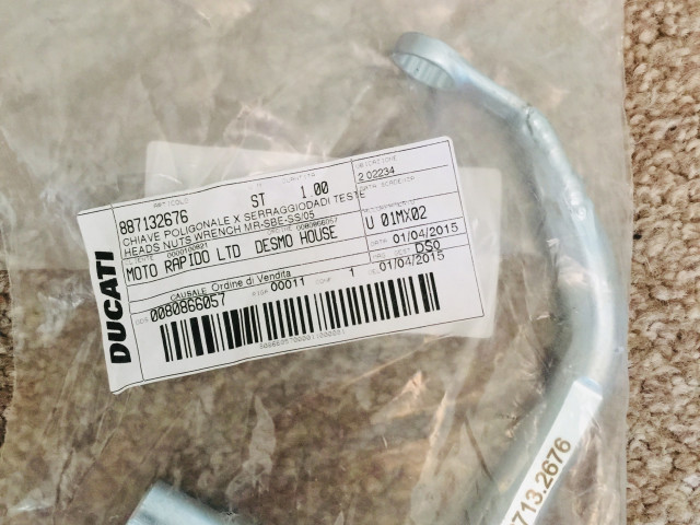 8871322676 - Head Nut Wrench (1098) 0