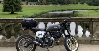 Scrambler Cafe Racer with Termignoni