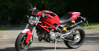 Monster 1100 ABS Super low miles
