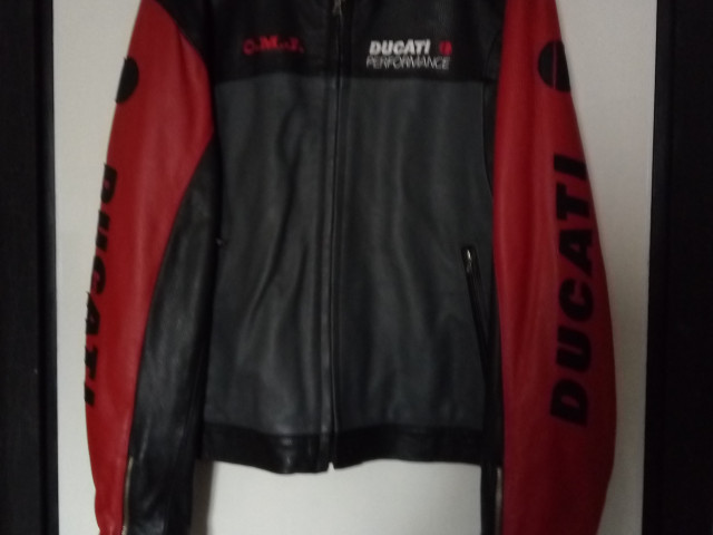 Ducati leather jacket 0