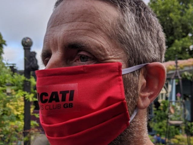 Face masks Ducati Owners Club GB 0