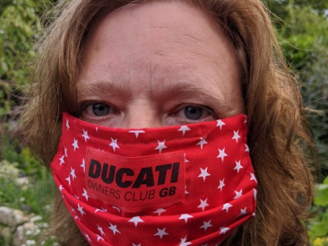 Face masks Ducati Owners Club GB 5