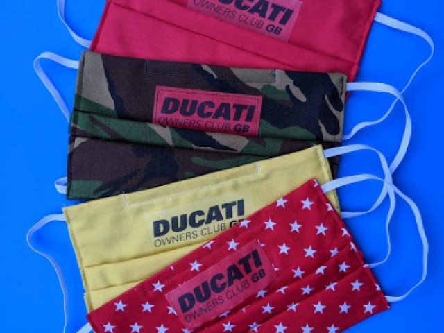 Face masks Ducati Owners Club GB 1