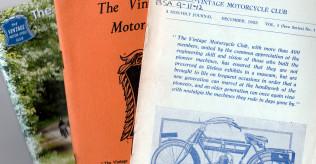 Vintage Motor Cycle Club (VMCC) Bulletins 1953 to 2012