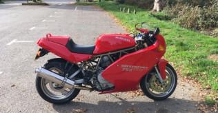 Ducati 750 supersport