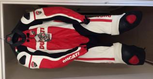 Ducati Corse 1 Piece leather suit