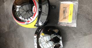 Bell Ducati Long Beach Helmet + Visor. Size: Small