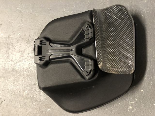 Ducati semi-rigid side panniers and rack for Monster 1200 7